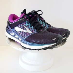 Brooks Guide Rails Running Shoe Purple Real 7.5